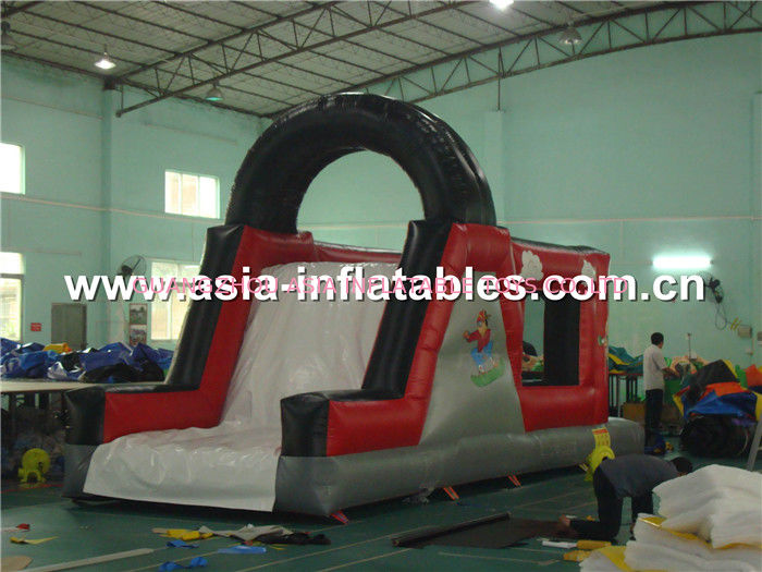 Inflatable Party Rental Games, Obstacle Course With Slide आपूर्तिकर्ता