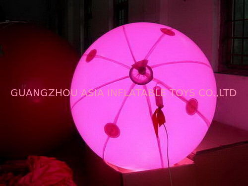 colorful decoration inflatable balloon with LED light for sales आपूर्तिकर्ता