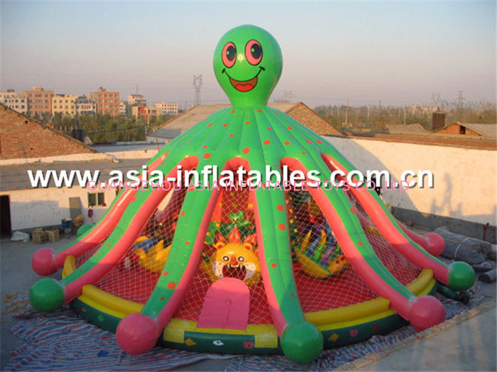Novel lovely lawn commercial inflatable combo for sale आपूर्तिकर्ता