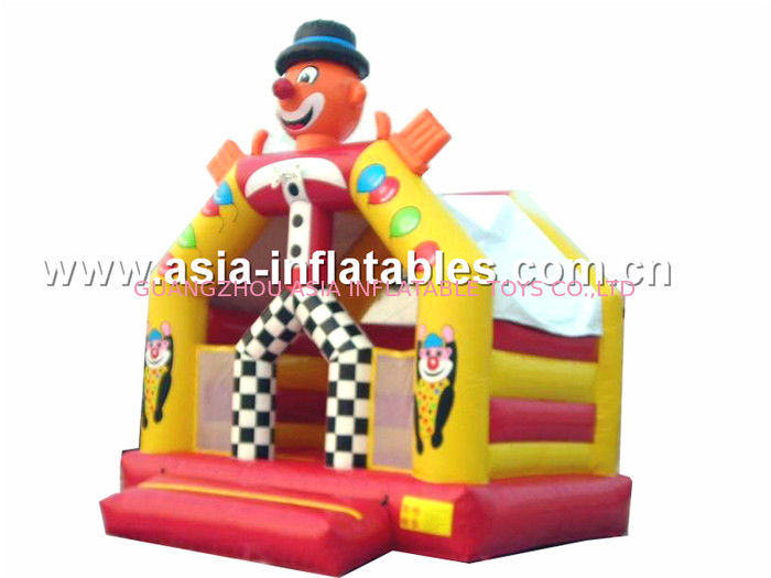Castle Inflatable Combo,Outdoor Combos Inflatable,Inflatable Clown Bounce Combo आपूर्तिकर्ता