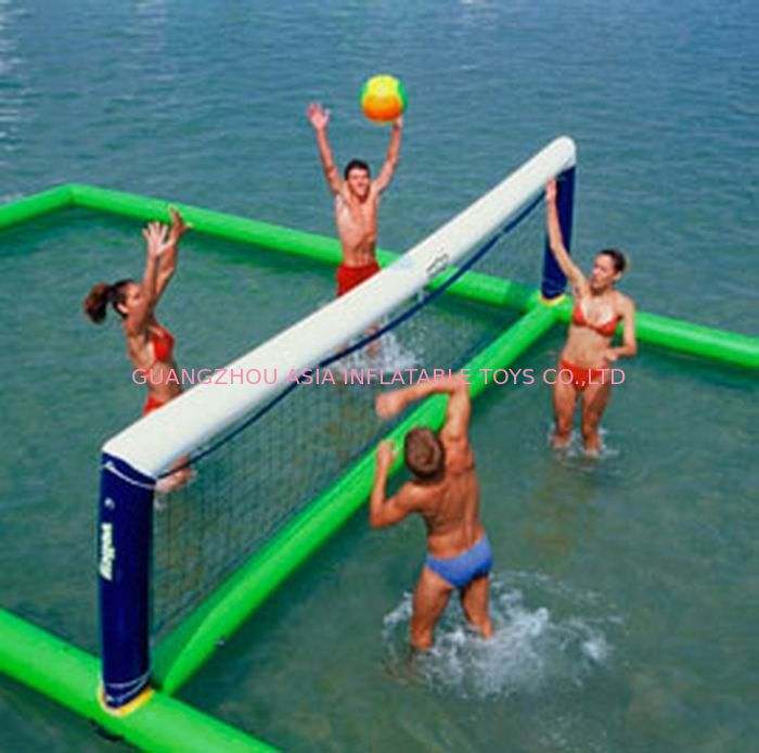 Inflatable aqua park Sports, Inflatable Water Volleyball field आपूर्तिकर्ता