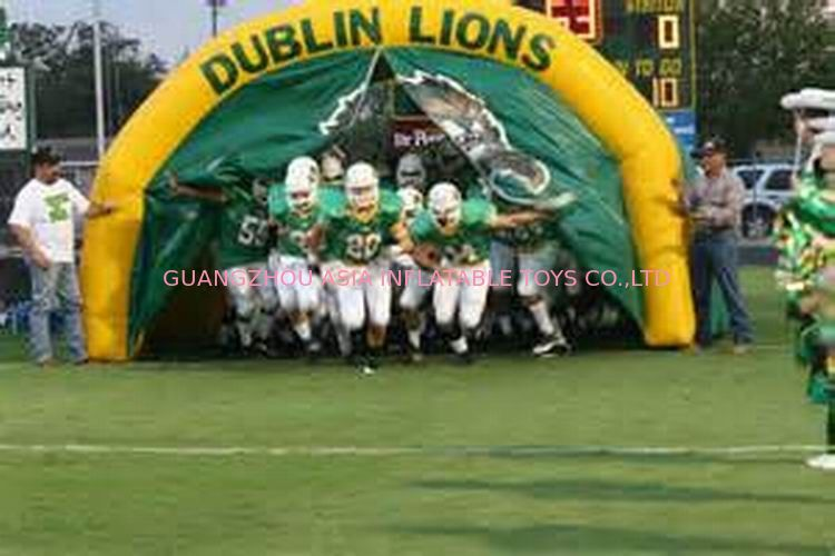 Customized American Football Team Entrance, Inflatable Tunnels आपूर्तिकर्ता