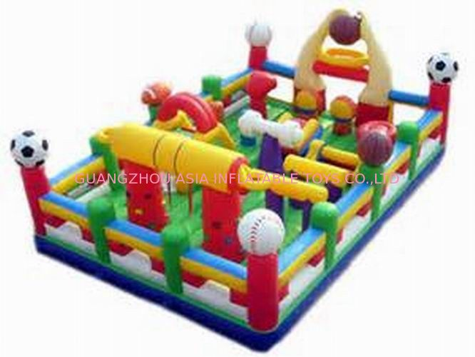 Hot Sale Inflatable Sports Funland / Inflatable Children Funcity आपूर्तिकर्ता