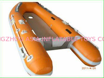 Custom Inflatable Sports Boat 2 Main Chambers On Hull for Extra Security आपूर्तिकर्ता
