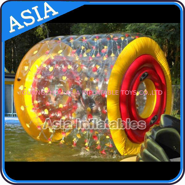 Colourful Inflatable Water Walking Roller for Outside Activity आपूर्तिकर्ता