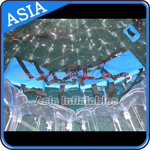 TPU Transparent Inflatable Grass Zorbing Ball with Safety Harnesses आपूर्तिकर्ता