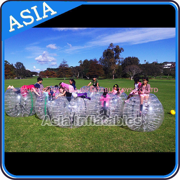 Custom 1.8m  Inflatable Body Bumper Ball For Adult Sports Games आपूर्तिकर्ता
