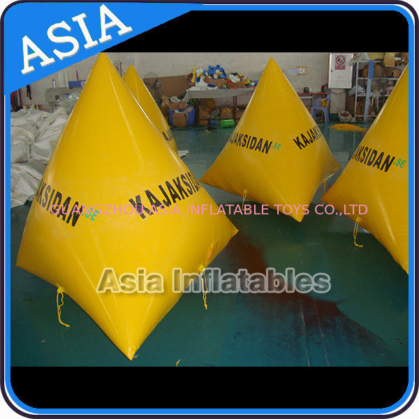 Inflatable Water Barrier Walls, Swim Buoys For Ocean Or Lake Advertising आपूर्तिकर्ता