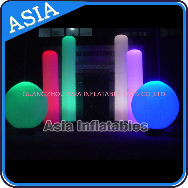 Inflatable Nightclub Decoration Inflatable LED Lighting Sphere आपूर्तिकर्ता