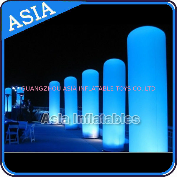 LED Inflatable Pillar Lighting Decoration, Inflatable Light Column