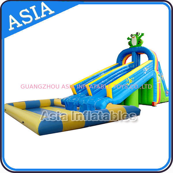 Animal Shape Inflatable Theme Park , Inflatable Water Play Center , Inflatable Water Play Island