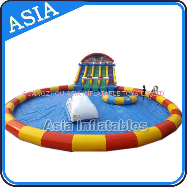 Moving Water Park , Inflatable Water Park , Inflatable Amusement Park