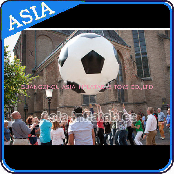 Football Helium Balloon And Blimps , Soccer Advertising Ball Inflatable Sports आपूर्तिकर्ता